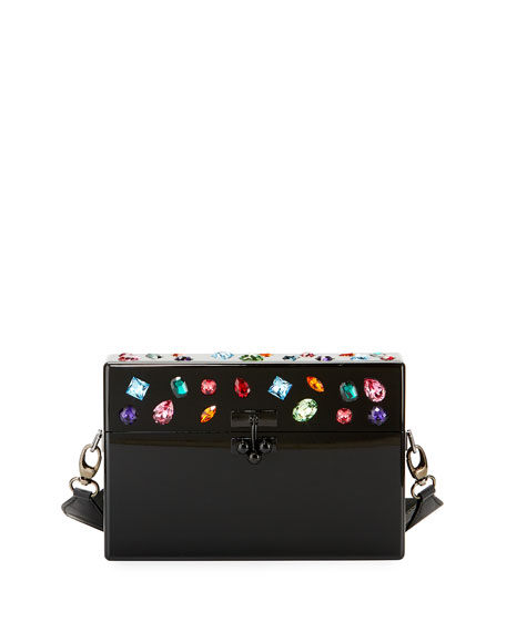 Edie Parker Small Jewelie Trunk Bag