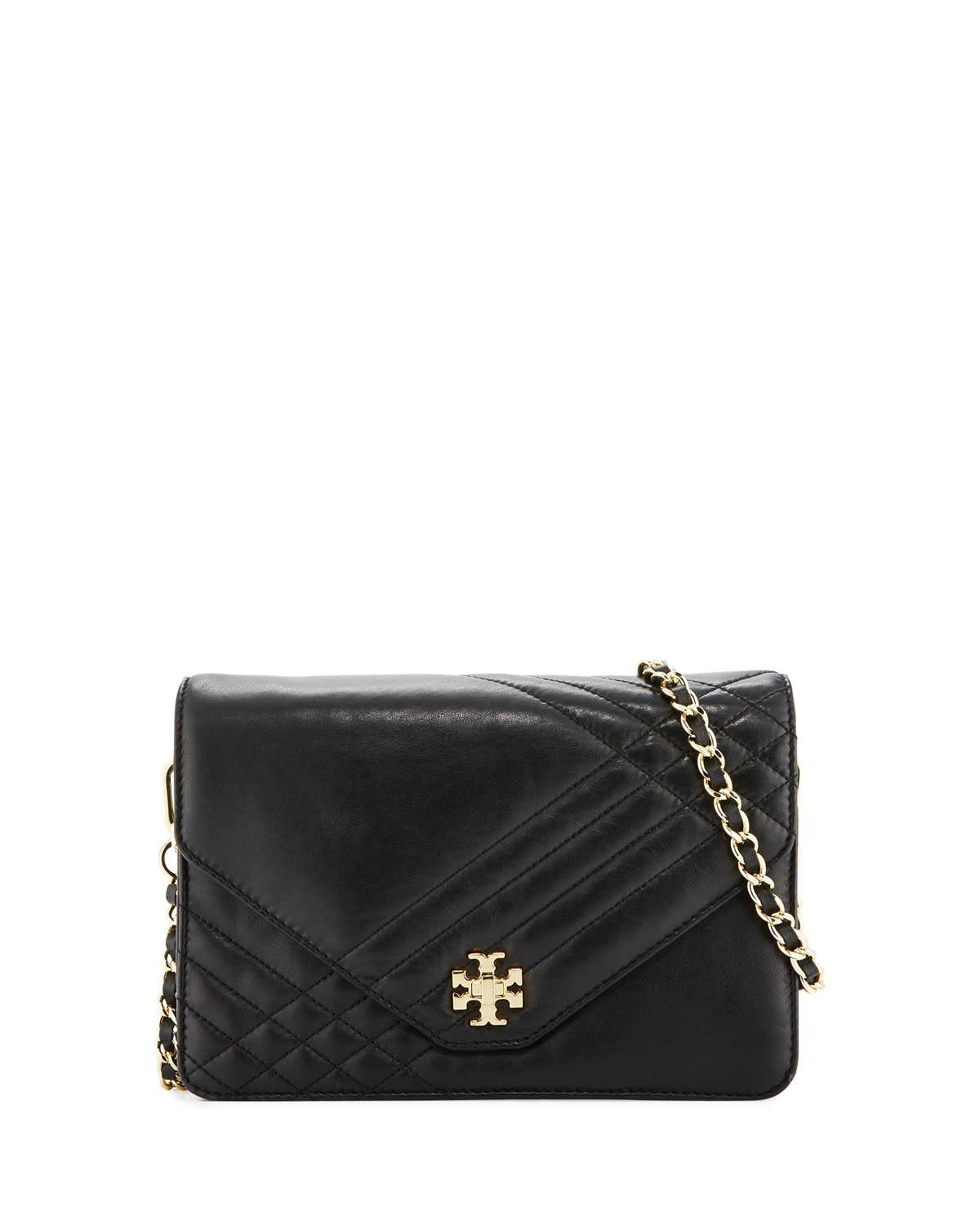 de5720dab9fc Tory Burch Kira Quilted Leather Crossbody Bag