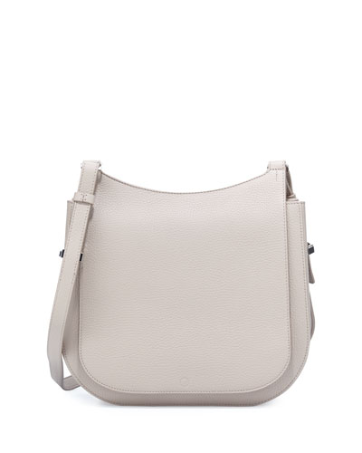 Hunting 11 Leather Crossbody Bag, Stone