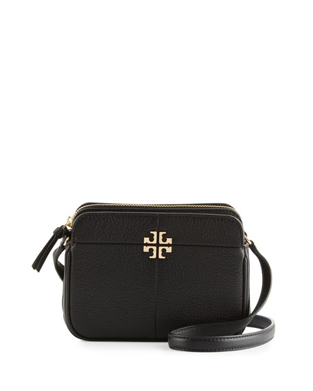 Ivy Micro Leather Crossbody Bag