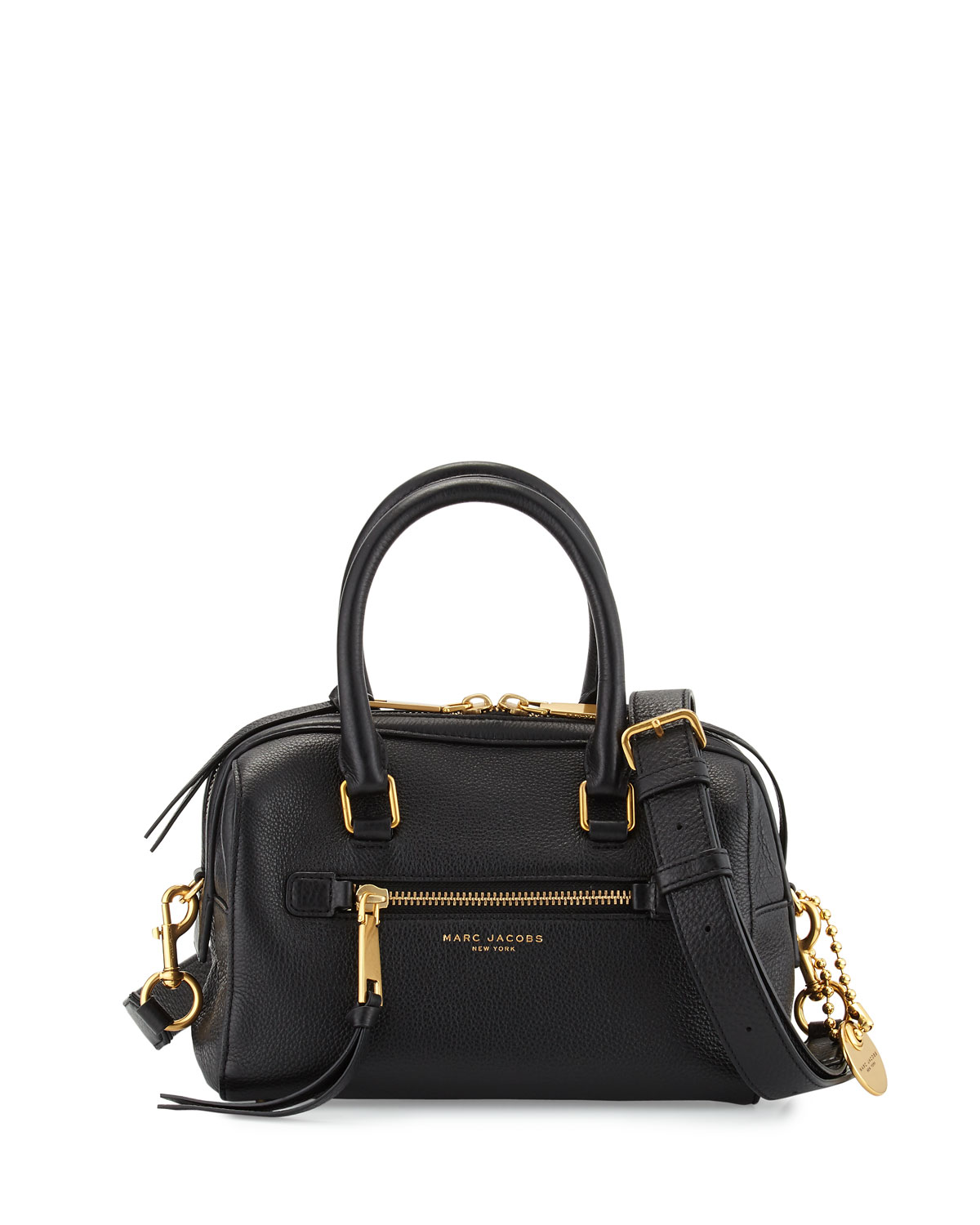 Recruit Small Leather Bauletto Bag