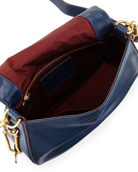 Recruit Leather Saddle Bag