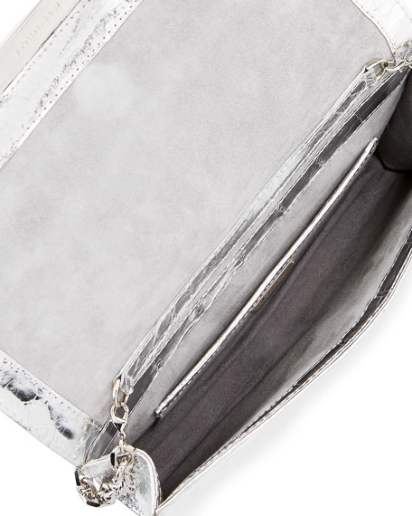 Sloane Crocodile Clutch Bag