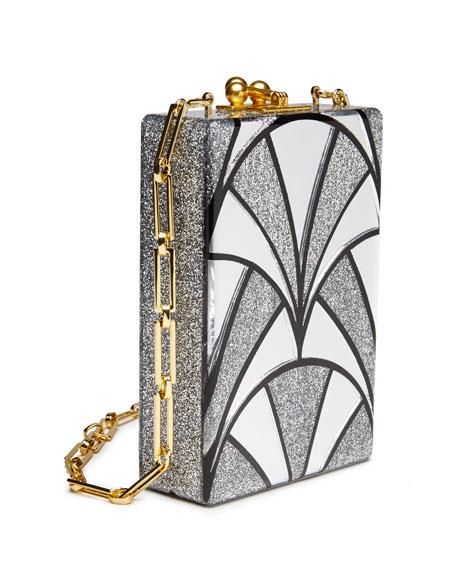 Carol Nouveau Acrylic Clutch Bag