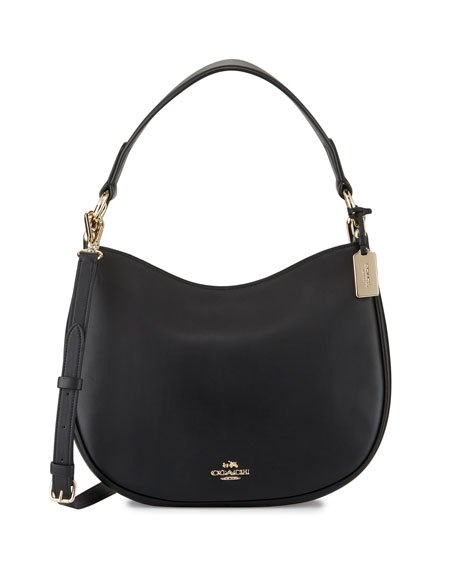 Coach Nomad Leather Crossbody Bag, Black