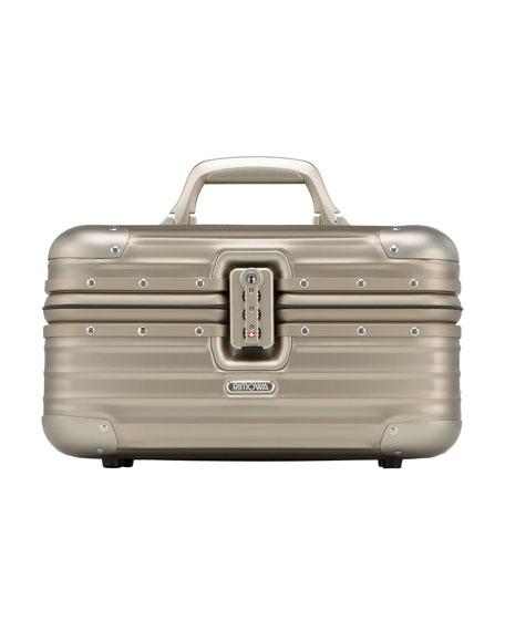 Rimowa North America Topas Titanium Beauty Case