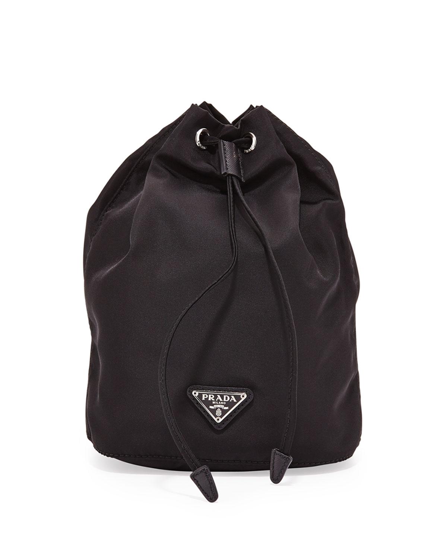 3771d9c4fa1d Prada Tessuto Bucket Bag | Neiman Marcus