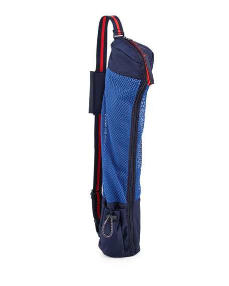 Tory Sport Varsity Mesh Sling Carrier for Yoga