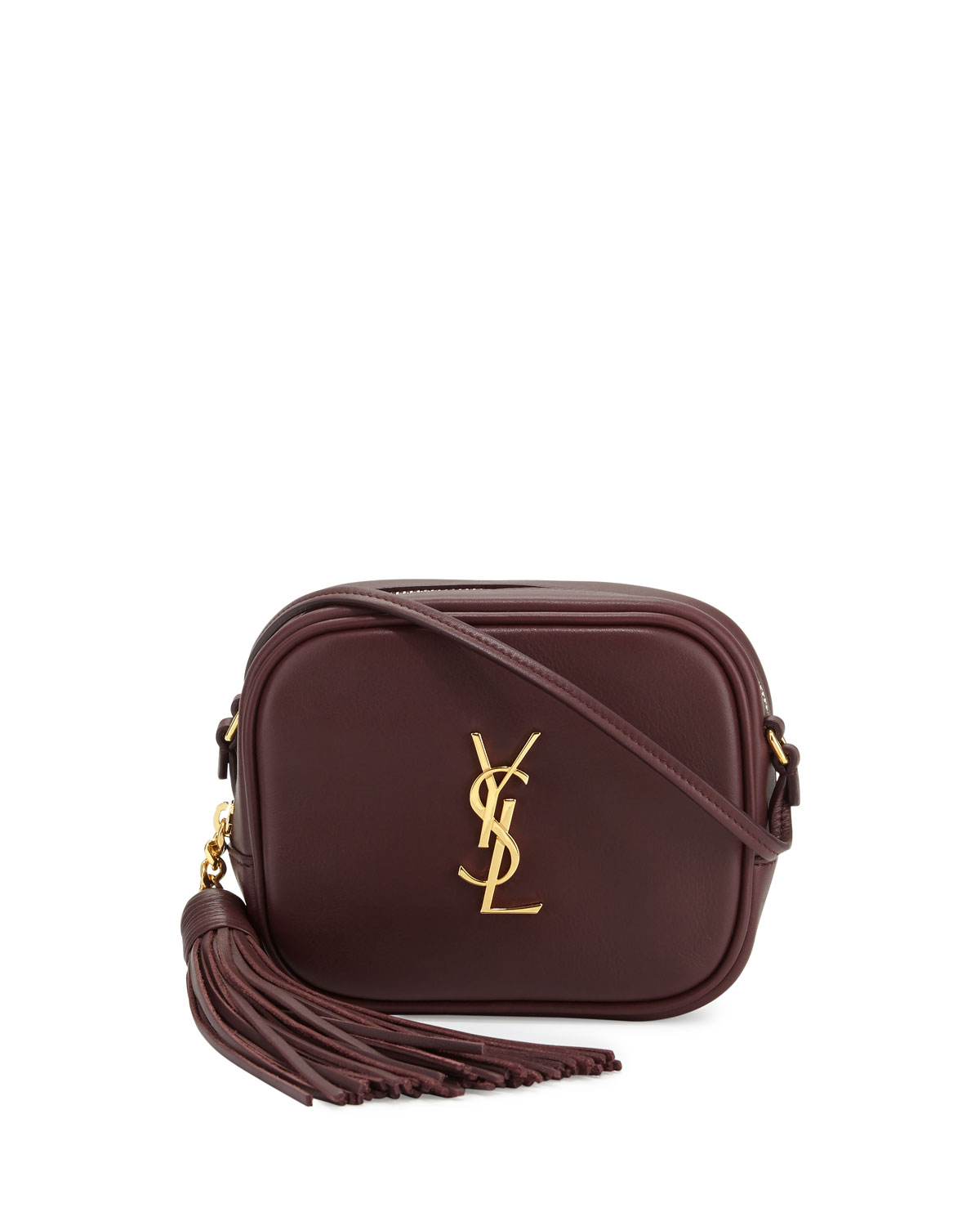 Saint Laurent Monogram Blogger Leather Crossbody Bag 53c5d7e6dba3e