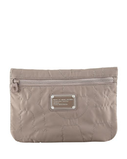 MARC by Marc Jacobs Pretty Nylon Pouch, Quartz Gray