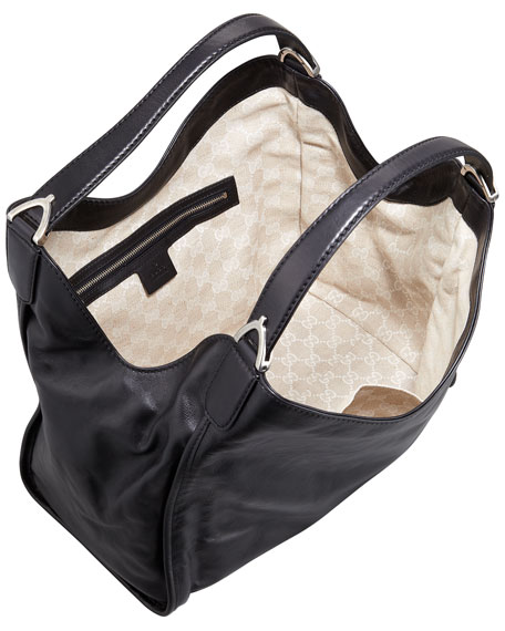 Soft Stirrup Shoulder Bag, Medium