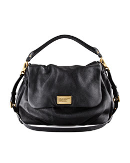MARC by Marc Jacobs Classic Q Ukita Shoulder Bag, Black