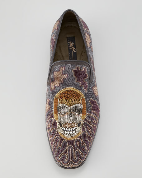 Pascow Skull Beaded Loafer