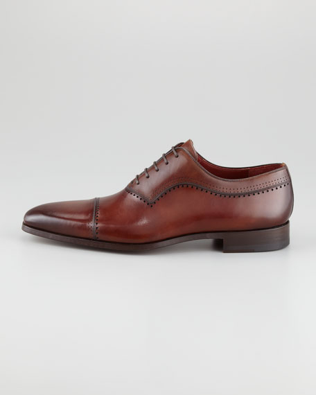 Punch-Trim Cap-Toe Oxford