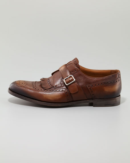 Milano Collection Monk-Strap Loafer