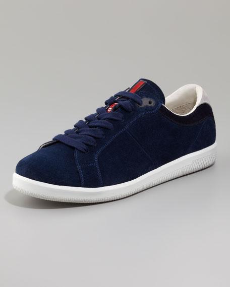 Tricolor Suede Sneaker