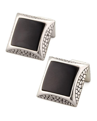 Stephen Webster Onyx Cuff Links