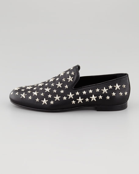 Star-Studded Smoking Slipper