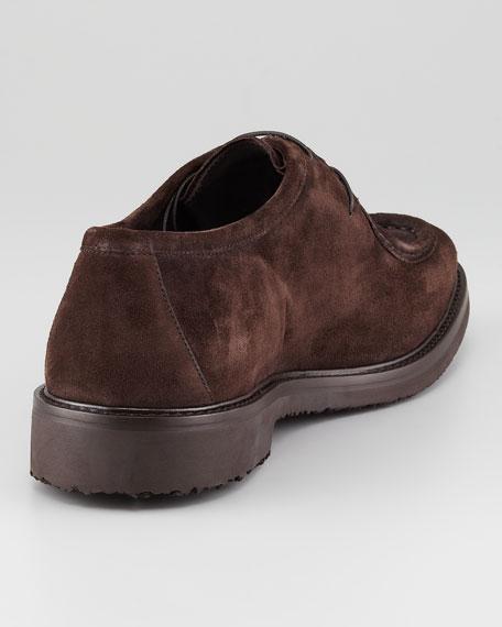 Suede Derby Shoe