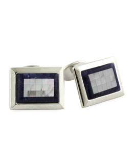 David Donahue Mosaic Cuff Links