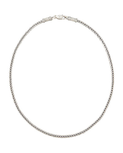 """KONSTANTINO Sterling Silver Chain Necklace, 20"""""""