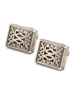 Konstantino Sterling Silver Filigree Cuff Links