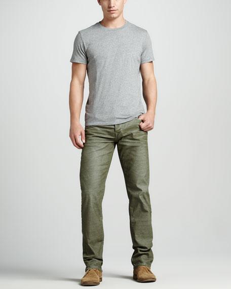 Geno Slim Corduroy Pants, Oakleaf