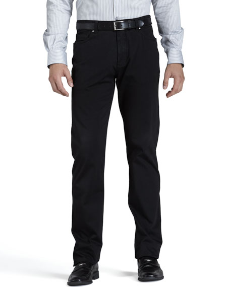 Brushed Cotton Pants