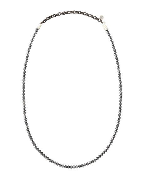 Batu Bedeg Hematite Necklace