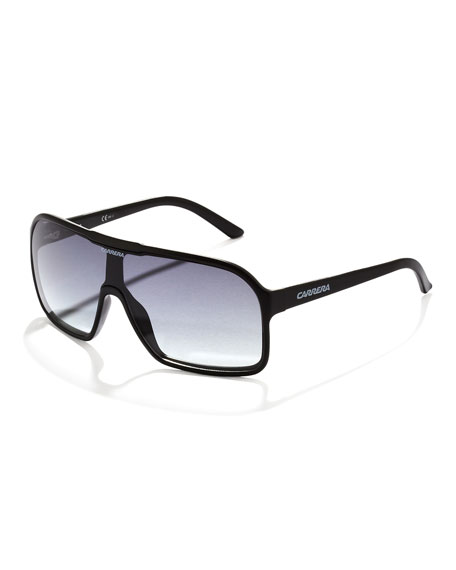 Large Plastic Shield Sunglasses