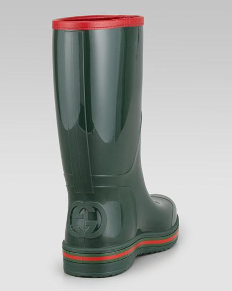 Rain Boot, Green