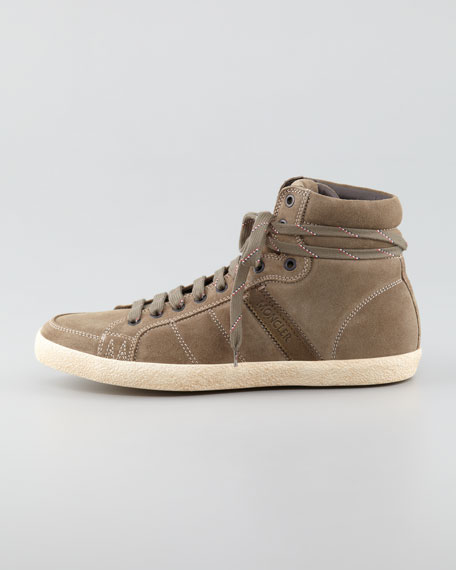 Lyon Suede High-Top Sneaker