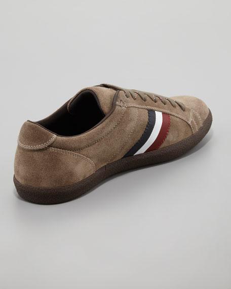 Monaco Safari Suede Sneaker, Olive