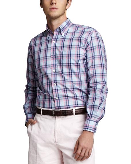 Montauk Plaid Sport Shirt