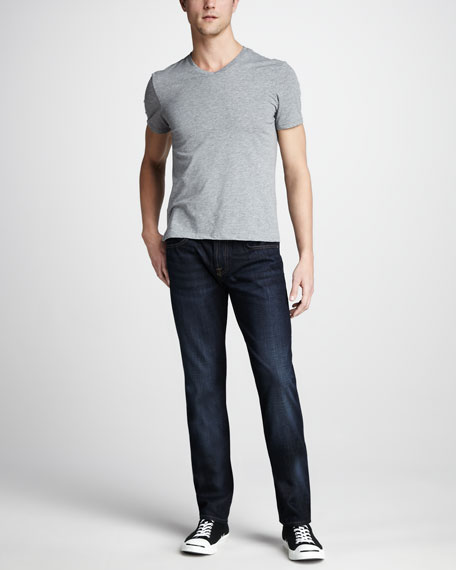 The Straight Hollenbeck Dark Jeans