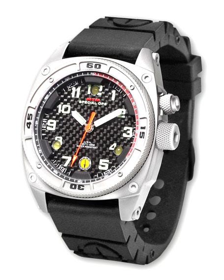 Falcon II Rubber-Strap Watch