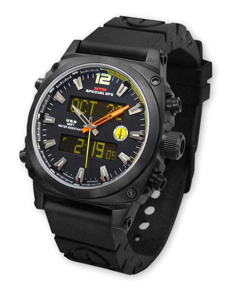 Air Stryk 2 Military Watch, Black