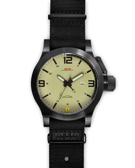 Black Hypertec Tactical Military Watch, Tan