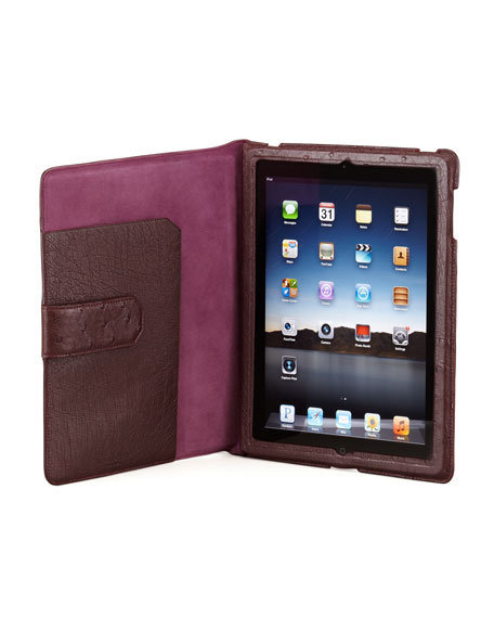 Ostrich iPad 2 Case, Purple