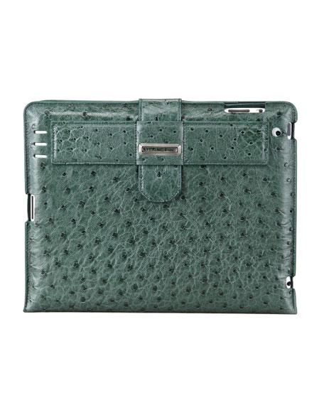 Ostrich iPad 2 Case, Matte Olive