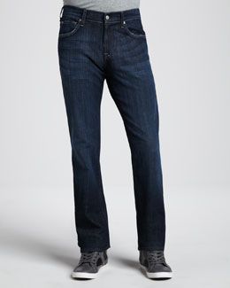 7 For All Mankind Austyn Los Angeles Dark Jeans, 36""