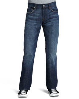 7 For All Mankind Brett Boot-Cut New York Dark Jeans