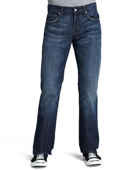 Brett Boot-Cut New York Dark Jeans
