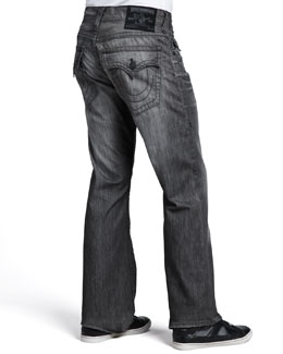 True Religion Ricky Gray Silverwood Jeans