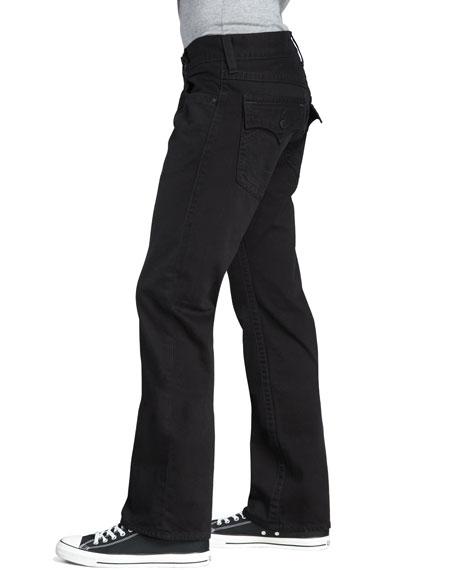 Ricky Straight Black Jeans
