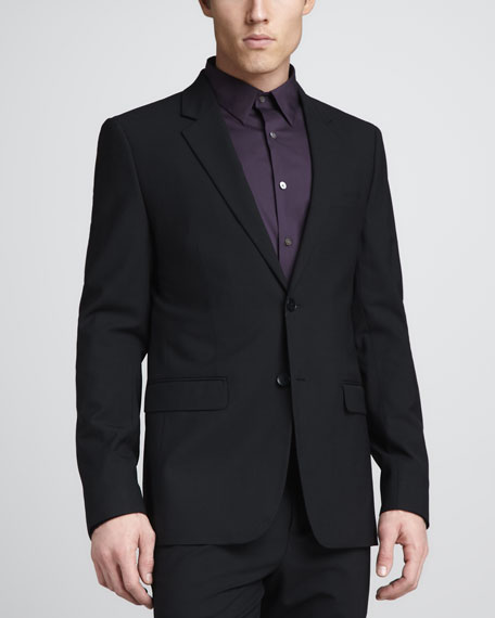 Xylo NP Stretch-Wool Sport Coat