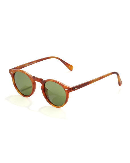 Gregory Peck Sunglasses, Matte Carretto