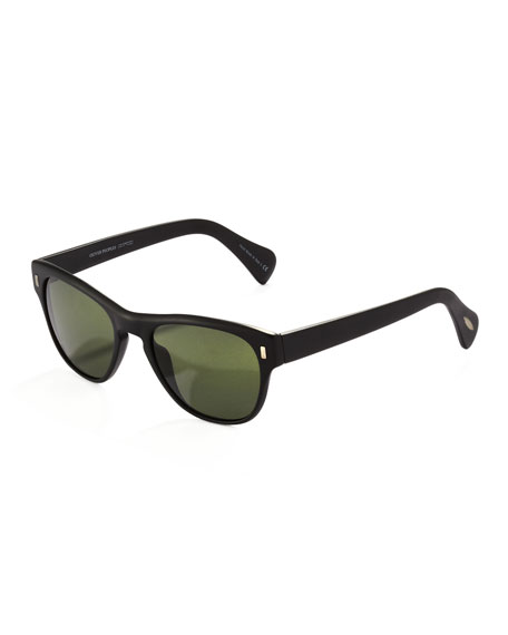 Shean Sunglasses, Matte Black