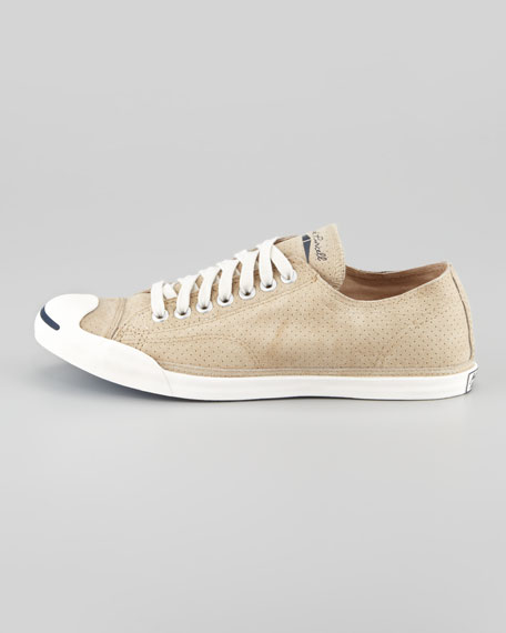 Jack Purcell Perforated Sneaker, Warm Sand