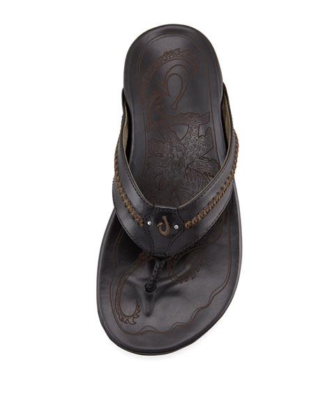 Mea Ola Thong Sandal, Black